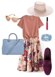 """""""Garden Party"""" by shortestcut on Polyvore featuring Bougeotte, FOSSIL, Chanel, MICHAEL Michael Kors and Gladys Tamez Millinery"""