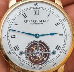 Geo.Graham Tourbillon Watch Hands-On