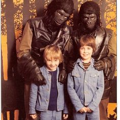 Planet of the Apes. Meet the cast at Selfridges, London. December, 1975.