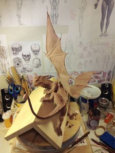 Dragon (WiP) by LisaSchindler.deviantart.com on @deviantART