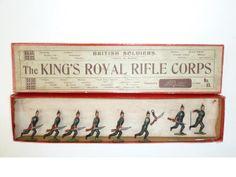 Britains set 98, King's Royal Rifle Corps 8
