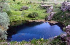 Dipsiz Göl... Sıvas Dipsiz Göl Selalesi'nin turizme kazandırılması için çalışmalar başlatıldı.