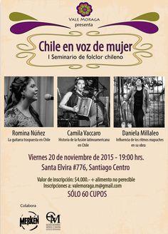 Chile en voz de Mujer. Proyecto de Título Valeria Moraga (Producción)