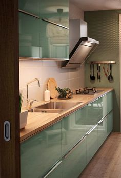 61 veces he visto estas magníficas cocinas blancas. Kitchen Cupboard Designs, Kitchen Room Design, Modern Kitchen Design, Home Decor Kitchen, Kitchen Layout, Interior Design Kitchen, Home Kitchens, Ikea Interior, Kitchen Modular