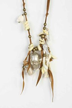 Spell & The Gypsy Collective Hanalei Skull Necklace - Urban Outfitters