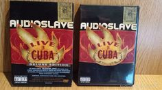 AUDIOSLAVE. LIVE IN CUBA. DVD+CD / INTERSCOPE - 2005 / CALIDAD LUJO.