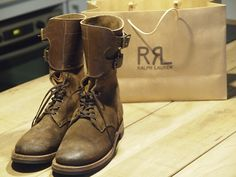 Double RL Infantry Boots. If you can find them - buy a lotto ticket