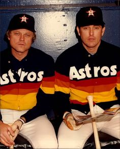 Joe Niekro & Nolan Ryan - Houston Astros