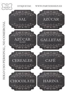 etiquetas botes - Buscar con Google Printable Labels, Printable Paper, Free Printables, Vintage Artwork, Vintage Prints, Kitchen Labels, Cupcake Shops, Notebook Stickers, Freebies