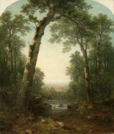 Forest Stream with Vista, 1872 Asher Brown Durand