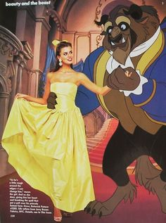 """Beauty And The Beast"", Vogue US, December 1991 Photographer : Patrick Demarchelier Model : Niki Taylor"