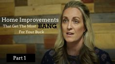 """Home Improvements That Get The Most Bang For Your Buck - Part 1 This week and next we are answering a question from Erin Watkins in Murrieta.  She asked: What home improvements increase the value of my home the most?  This week we look at two areas that are great to focus on when improving your home with a long term goal of resale.  If you find this video helpful please """"like"""" it and subscribe to our HomeWise channel to hear more helpful information and advice every week."""