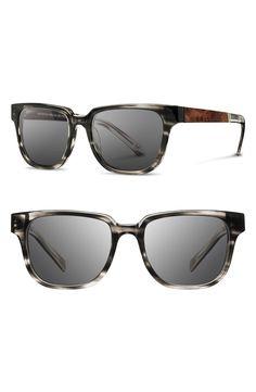 6b04940fd4a2  Buy Shwood Prescott 52mm Acetate   Wood Sunglasses
