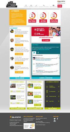 Bol D Air, Web Design, Change, Courses, Aide, Action, Colors, Design Web, Group Action