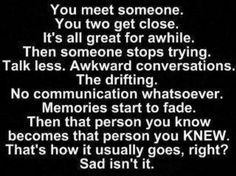 This happens when someone stops caring & trying. :-(