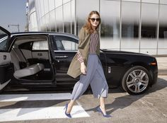 The Olivia Palermo Lookbook : Olivia Palermo At Rolls-Royce Event In New York City