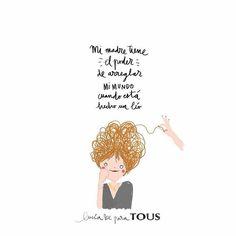 Si es que ya lo dice @luciabe... Las madres tienen poderes! La mía es capaz de hacer mil cosas a la vez está ahí cuando la necesito y siempre me recuerda lo mucho que valgo. Es el espejo en el que me miro y a veces pienso cómo es posible que sea capaz de hacer tanto? Y solo se me ocurre una respuesta: mi madre es una supermamá!! #felizdiadelamadre #madresolohayuna