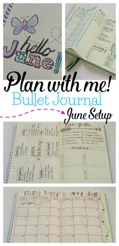 Adding some new things to my June Bullet Journal setup! Come plan with me.