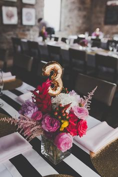 Use these cute mini balloons as table numbers, spell words, etc