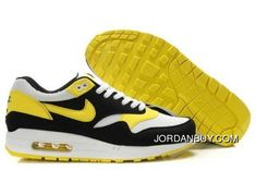 http://www.jordanbuy.com/order-nike-air-max-1-mens-running-shoe-black-whiteyellow-with-our-best-service.html ORDER NIKE AIR MAX 1 MENS RUNNING SHOE BLACK/WHITE-YELLOW WITH OUR BEST SERVICE Only $85.00 , Free Shipping!