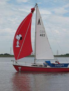 Where's Woodstock? snoopy boat! #boatsdotcom
