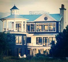 My dream beach house / Beach Cottage / Coastal Style Living Southern Homes, Coastal Homes, Beach Homes, Southern Charm, Coastal Living, Country Homes, Coastal Cottage, Southern Style, Future House