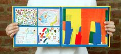 Fantastic way to preserve kids' artwork--in a book!