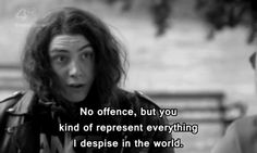 skins UK i love Rich and Grace Skins Uk Quotes, Film Quotes, Country Music, Wise Words, Everything, Lust, At Least, Tv Shows, Wisdom