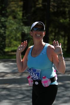 "Lovin' this run through the ""City of Trees""! Marathon Photo, Atlantic Canada, Mens Sunglasses, Trees, Running, City, Blue, Fashion, Moda"