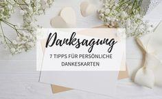 Danksagung nach der Hochzeit: 7 Tipps für persönliche Dankeskarten Polaroid Foto, Blog Sites, Latest Images, One Pic, Special Day, Letter Board, Texts, Initials, Encouragement