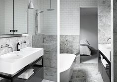 Stunning bathroom at REL Residence by MIM Design   Read more about the project at basichabitat.com