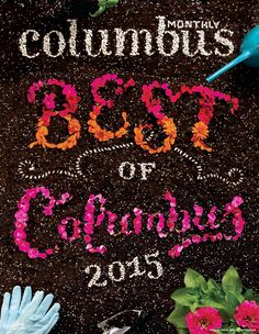 Columbus Monthly Flower Type and Video on Behance