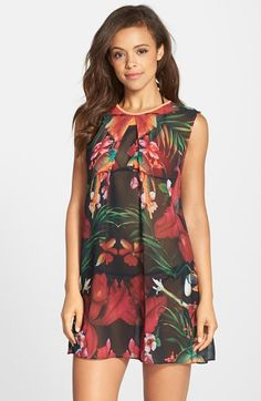Ted Baker London 'Tropical Toucan' Cover-Up Tunic available at #Nordstrom