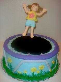 Trampoline Cake  on Cake Central