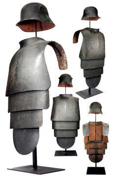 German WWI armor