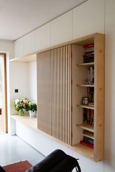 Home Entrance Decor, House Entrance, Home Decor, Furniture Design, Furniture Storage, Diy Furniture, Modern Wood Furniture, Home Interior Design, Home And Living