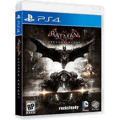 (SUB) Batman Arkhan Knight PS4 + Lego Star Wars versão Deluxe PS$ por R$ 169 em 1XC.SUB.