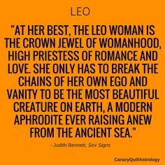 LEO — Canary Quill Astrology