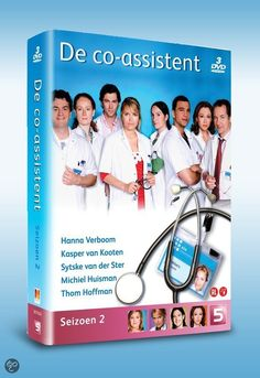bol.com | Co-Assistent - Seizoen 2, Hanna Verboom, Kasper van Kooten & Mimi Ferrer...