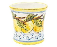 Vaso in terracotta Limoni - 11x11x11 cm