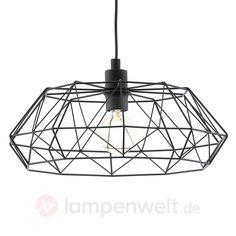 57,90  Carlton 2 - schwarze Vintage-Pendelleuchte sicher & bequem online bestellen bei Lampenwelt.de.