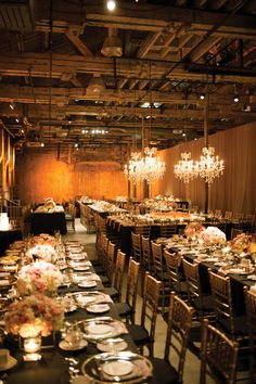Gold Venue Real Wedding