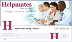 Helpmates Staffing Services has a great new Facebook Timeline--check it out!