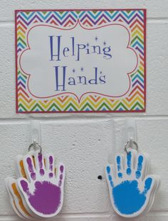 classroom jobs helping hands