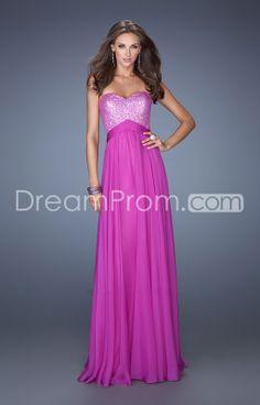 US $129.992014 Classic Floor-length Sweetheart Sheath/Column Sequined Bodice Chiffon Prom Dresses
