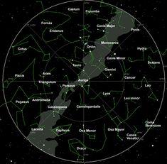 Localizar las constelaciones. Web el cielodelmes.com