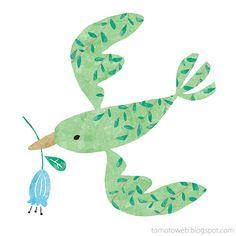 tomoto: Green Bird