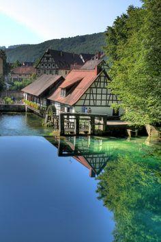 Water Mill, Blaubeuren, Blautopf - Germany