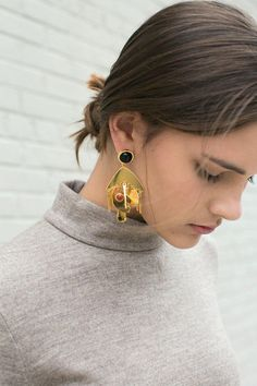 Lizzie Fortunato - Picasso Palette Earrings | BONA DRAG