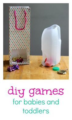 Super simple to make, really fun to play: DIY games for babies and toddlers